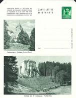 Luxembourg  -  Carte-Lettre  -  Briefkarten - Colmar-Berg:Château Grand-Ducal - Vallée Des 7 Châteaux , Hollenfels - Entiers Postaux