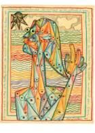 CPM - Jean COCTEAU (né à Maisons-Laffitte) - L'APOCALYPSE - Dessin Livre De Joseph FORET … - Pintura & Cuadros