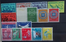 NEDERLAND  1959   Van Nr. 720  Tot 735   Postfris **  +  Nr.  727 Scharnier *    CW 29,00 - Period 1949-1980 (Juliana)