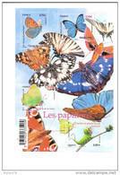 Bloc Feuillet Les Papillons, N° 4498 - Blocs & Feuillets