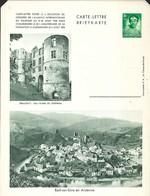 Luxembourg  -  Carte-Lettre  -  Briefkarten - Beaufort:Les Ruines Du Château - Esch S./Sûre En Ardenne - Entiers Postaux