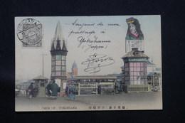 JAPON - Affranchissement De Yokohama Sur Carte Postale En 1907 Pour La France - L 59772 - Storia Postale