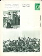 Luxembourg  -  Carte-Lettre  -  Briefkarten - Luxembg:Les 3 Tours ( 1050 ) - Luxembg:Ville-Haute - Entiers Postaux