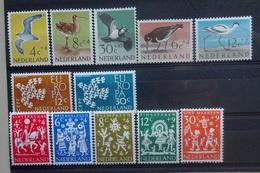 NEDERLAND  1961   Van Nr. 752 - 763  Postfris **    CW 17,50 - Nuovi
