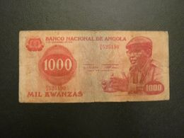 Billet 1000 Kwanzas 1979 Angola Afrique - Angola