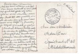 Rotterdam - Langebalk 5.2.18 Charlois 2 - Middelharnis - Postal History