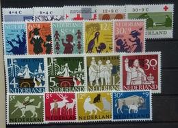 NEDERLAND  1963   Nr. 795-799 / 802 - 806 / 807 - 810 / 812 - 815   Postfris ** - Periodo 1949 - 1980 (Giuliana)