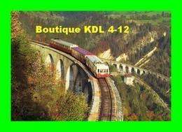 RU CT 24 - Autorail Picasso X 3800 Et X 2800 Sur Le Viaduc Des Crottes à MORBIER - Jura - SNCF - Otros Municipios