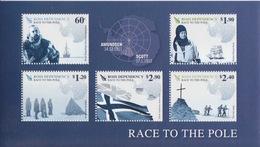 Ross, Bloc N° 3 (Centenaire De La 1° Expédition Au Pôle Sud, Amundsen, Engelbregt, Scott, ...) Neuf ** - Unused Stamps