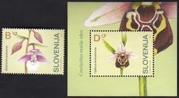 Slovenia 2004 / Flora, Flowers, Orchidea Ophrys Holoserica / MNH - Slovénie