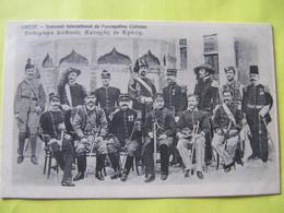 Crète  Souvenir International De L'occupation Crétoise .TBE - Greece