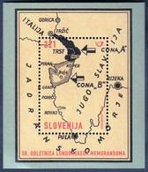 Slovenia 2004 / 50th Anniversary Of The London Memorandum, Map, Croatica / MNH - Eslovenia