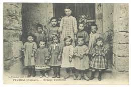 POUJOLS - Groupe D' Enfants  (380 ASO) - France