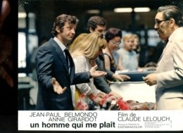 Photo Du Film Un Homme Qui Me Plait De Claude Lelouch Avec J.P.Belmondo A.Girardo - Affiches & Posters