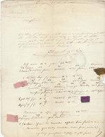 LAC échantillons De Tissu/soie/satin/percale/taffetas/rubans Charpentier & Cie Avignon 1837 - Textile & Vestimentaire