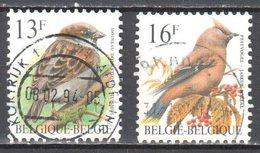 Belgium 1994 Birds - Mi.2585-86 - Used - Oblitéré - Belgium