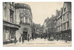 CPA 18 BOURGES Rue Du Commerce Société Générale - Bourges