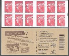 France 2013 - Yv N° 590 - C14 - Abonnement ... ** - Carnets