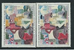 [39] Variété N° 1322 De La Fresnaye Sans Le Jaune + Normal ** - Variétés Et Curiosités