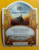 13631 - Nostalgie Istanbul Orient-Express Villeneuve 1990 - Treni