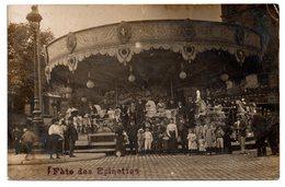 Paris: Fête Des épinettes - Carte-photo Manège Gros Plan - Other