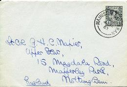 Ireland Cover Sent To England Mainistir Na Coran 4-9-1963 Single Franked - 1949-... Repubblica D'Irlanda