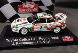 Toyota Celica GT-Four - Juha Kankkunen/N. Grist - Monte-Carlo 1995 #2 - Magazine Rally - Rallye