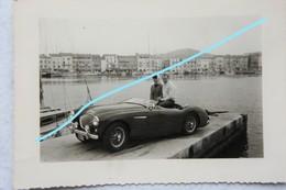 Photox3 VOITURE DE SPORT Automobile SAINT TROPEZ 1960 Auto Oldtimer Car Wagen - Automobiles