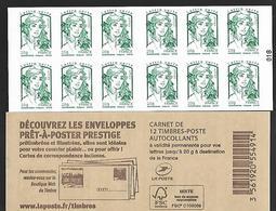 France 2014 - Yv N° 858 - C3 - Découvrez Les Enveloppes Prêt-à-poster ** - Usados Corriente