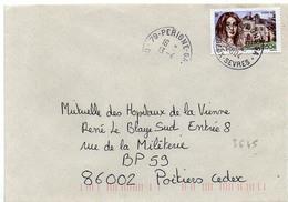France N° 3645 Y. Et T. Deux Sèvres Périgné GA Cachet A9 Du 13/04/2004 - Marcophilie (Lettres)