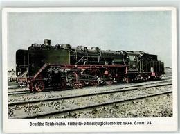 52824638 - Einheits-Schnellzuglokomotive 1934 Deutsche Reichsbahn - Trenes