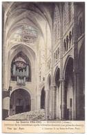 Aisne Soissons Les Ruines De La Cathedrale Interieur Apres Le Bombardement Les Orgues - Soissons