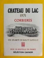 13637 - Château Du Lac 1971 Corbières - Languedoc-Roussillon