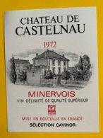 13638 - Château De Castelnau 1972 Minervois - Languedoc-Roussillon