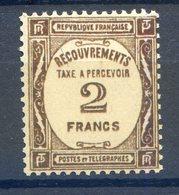 2 Mai 2020 La Journée Des TIMBRES RARES........TAXE ....NUMERO 62 Luxe**.........2 Lignes Lors Du Gommage Sans Incidence - 1859-1955.. Ungebraucht