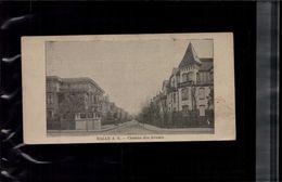 7 X 14 Cm Carte Postale En L Etat Sur Les Photos HALLE A.S. Chemin Des Avoués - Halle (Saale)