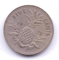 BAHAMAS 1973: 5 Cents, KM 60 - Bahamas