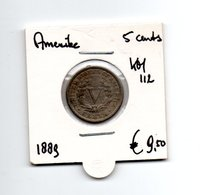 AMERIKA 5 CENTS 1889 LIBERTY - Federal Issues