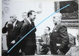 Photox4 JEAN DE LUXEMBOURG Grand Duc HENRI Cérémonie Mutilés Anciens Combattants - Geïdentificeerde Personen