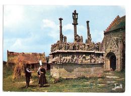 Saint-jean-trolimon (29120) Calvaire Et Chapelle De Tronoen XVe Siecle - Saint-Jean-Trolimon