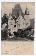 CHEF BOUTONNE--1903--Chateau De Javarzay..timbre..beau Cachet LA VILLEDIEU DU CLAIN-86 .................à Saisir - Chef Boutonne