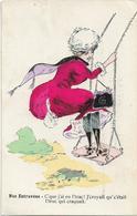 BOEL - NOS ENTRAVEES -C'QUE J'AI EU L'TRAC ! J'CROYAIT QU'C'ETAIT L'TRUC QUI CRAQUAIT - Femme Avec Sa Robe Craquée - Autres Illustrateurs