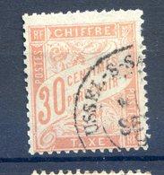 2 Mai 2020 La Journée Des TIMBRES RARES........TAXE ....NUMERO 34.......Oblitéré ....superbe Pas De Clair - 1859-1955 Mint/hinged