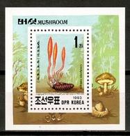 Korea North 1993 Corea / Mushrooms MNH Fungi Champignons Setas Pilze / Cu16118  31-23 - Funghi