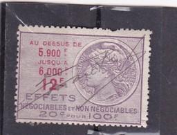 T.F. Effets De Commerce N°425 - Fiscaux