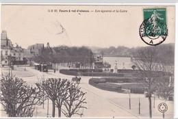 """Cachet Ambulant """"Nantes A Paris 2° 1908"""" Frappe Superbe Semeuse Pour Paris - Railway Post"""