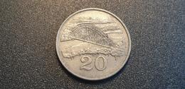 ZIMBABWE : 20 Cent 1996 - Zimbabwe