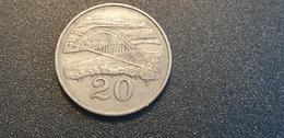 ZIMBABWE : 20 Cent 1980 - Zimbabwe
