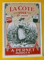 13661 - La Côte 1911 !!! Reproduction Voir 2e Scan - Etichette