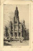 Gravure Eglise De La Trinité RV - District 09